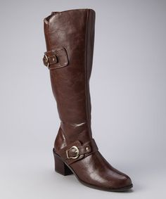 Take a look at this Brown Rustic Pamelaz Boot by Annie Shoes on #zulily today!