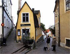 Gotland Visby Huset Strykjärnet sept 08.jpg - Old house, Visby