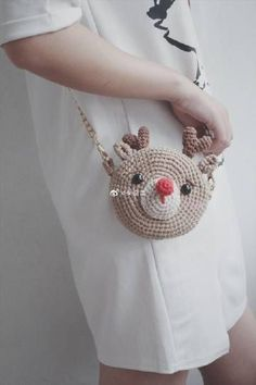 Marvelous Crochet A Shell Stitch Purse Bag Ideas. Wonderful Crochet A Shell Stitch Purse Bag Ideas. Crochet Coin Purse, Crochet Backpack, Crochet Pouch, Crochet Purses, Crochet Dolls, Love Crochet, Crochet Baby Shoes, Diy Crochet, Crochet Crafts
