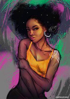 303 best black art images in 2019 Black Love Art, Black Girl Art, Art Girl, Black Couple Art, Black Art Painting, Black Artwork, African American Art, African Art, Drawings Of Black Girls