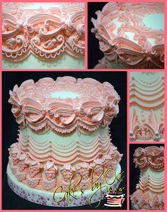 Lambeth... mas de ocho capas de glaseado real hacen de este pastel un clásico Lambeth con la típica inspiración del Chef Oss