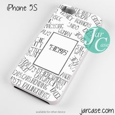 The 1975 Words Phone case for iPhone 4/4s/5/5c/5s/6/6 plus
