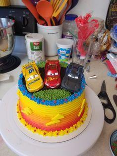 Disney Cars 3 birthday cake