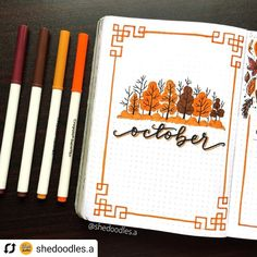 35 Fall Bullet Journal Ideas To Welcome The New Season