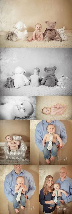New Ideas For New Born Baby Photography : Tate at Six Months | Clearwater Baby Photographer