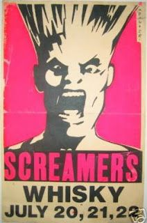 Gary Panter's poster for infamous LA punk band