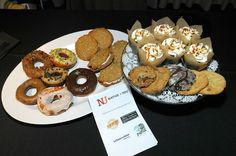 First Friday: Native + You - February 2015. Cupcake walk sponsors with some of the winnings to be had.