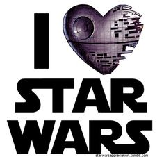 Sigh....I don't really love Star Wars but I love my Star Wars geek, so.....