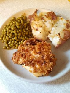 Crispy Onion Chicken & Crash hot potatoes