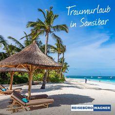 """""""Geh doch da hin wo der Pfeffer wächst"""". Mit einer von uns organisierten Reise 🧳 nach Sansibar kein Problem 😎 Neben kostbaren Gewürzen erwarten Sie kreideweiße Sandstrände, Palmen, die sich im Wind wiegen und eine 85 Kilometer lange Küste wie im Bilderbuch. Nicht umsonst wird die Insel vor Tansania oft als die schönste tropische Insel der Welt bezeichnet.  Sansibar - schon der Name weckt Sehnsüchte! 🥰 #ReisebüroWagner #Werne #Fernreisen #Sansibar Hotels, Strand, Patio, Outdoor Decor, Home Decor, Dominican Republic, Tanzania, Lisbon, Longing For You"""