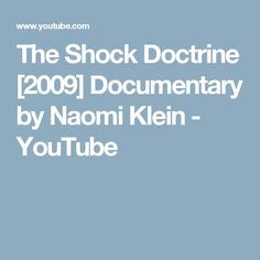 the shock doctrine the rise of disaster capitalism pdf