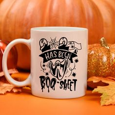 2020 has been Boo-Sheet funny halloween coffee mug, Ghost mug, halloween decor, fall decor. Funny Coffee Mugs, Coffee Humor, My Coffee, Halloween 2020, Funny Halloween, Sheet Ghost, Gifts For Veterans, Employee Gifts, Mugs For Men
