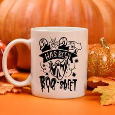 2020 has been Boo-Sheet funny halloween coffee mug, Ghost mug, halloween decor, fall decor. Funny Coffee Mugs, Coffee Humor, My Coffee, Halloween 2020, Funny Halloween, Sheet Ghost, Gifts For Veterans, Employee Gifts, Mugs For Men