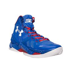Under Armour Men's Curry 2 Basketball Shoes ($130) ❤ liked on Polyvore featuring men's fashion, men's shoes, men's athletic shoes, blue, mens leopard print shoes, mens mesh shoes, under armour mens shoes, mens athletic shoes and mens shoes