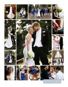 Scrapbooking Layout Idee - Hochzeit Reportage