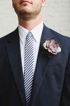 12 Unique Boutonnieres - Elizabeth Anne Designs: The Wedding Blog