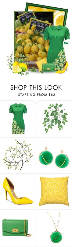 """""""Lemon Lime Love"""" by kginger ❤ liked on Polyvore featuring Ash, Whistle & Wolf, Universal Lighting and Decor, Amrita Singh, Lana, INC International Concepts and Nina Kullberg"""