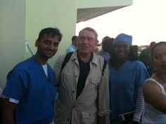 Dr. Sacheen Mehta with journalist Dan Rather following the 2010 earthquake in Haiti Dan Rather, Haiti, Lifestyle