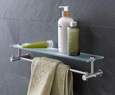 Handtuchstange mit Glasablage - www.phos.de