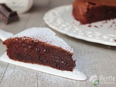 Bimby chocolate cake with chocolate Cakes And More, Biscotti, Italian Recipes, Chocolate Cake, Banana Bread, Cake Recipes, Cheesecake, Food And Drink, Sweets