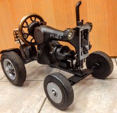 Sewing Machine Tractor