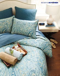 Want a sophisticated look with all the comfort? Find your style of bedding at Bed Bath & Beyond today.