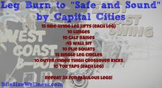 capital cities leg workout