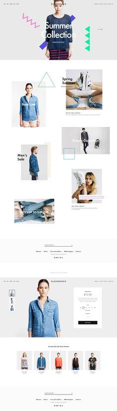 Eleven Paris Re-design on Behance