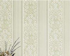 Jedinečná textilná tapeta na stenu so vzorom, svetlo-zelená farba. Curtains, Home Decor, Blinds, Decoration Home, Room Decor, Draping, Home Interior Design, Picture Window Treatments, Home Decoration
