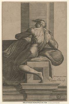Nu de la chapelle Sixtine par Cherubino Alberti