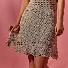 Crochet Lace Dress, Crochet Shirt, Chrochet, Crochet Fashion, Crochet Clothes, Crochet Stitches, Crochet Projects, Stitch Patterns, Sequin Skirt
