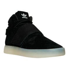 super popular b532c 11a00 Populaire Adidas Tubular Invader Strap 750 Black Noir Vintage White blanc  BB5037 Youth Big Boys Sneakers