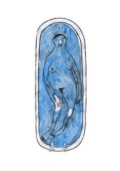 Vale à pena ver essa animação! Bath Animation by Pia Bramley :: Illustration… Art And Illustration, Illustrations Posters, Gif Animé, Animated Gif, Wow Art, Photo Projects, Community Art, Oeuvre D'art, Kitsch