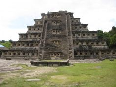 Piramide de los Nichos, El Tajin, Papantla, Mexico. Really fascinating and important Mesa-American archaeological site Andrew visited several times while first establishing the studio in Mexico during 2005-07.