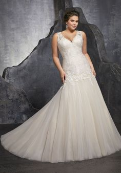 4e62d37e4ae 3236 - Bridal Gowns by Morilee. Kesara Wedding Dress. Elegant Modified  A-Line