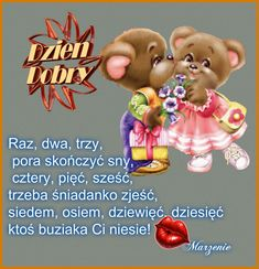 Zobacz pełen rozmiar Night Quotes, Good Night, Teddy Bear, Humor, Christmas Ornaments, Toys, Holiday Decor, Funny, Animals