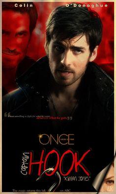 Colin O'Donoghue - Killian Jones -Captain Hook - Once Upon A Time