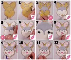 Flour Box Bakery — How to Decorate an Easter Bunny