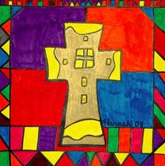 Check out student artwork posted to Artsonia from the First Communion Stained Glass project gallery at St. Catholic School, Stained Glass Projects, First Holy Communion, Art Lesson Plans, Art Museum, Art For Kids, Art Projects, Student, Gallery