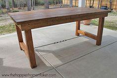 DIY outdoor dining tables-2