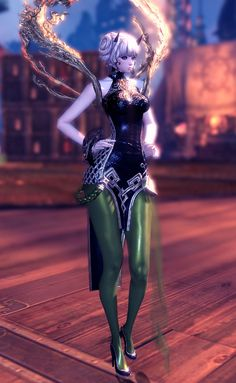 White Blade and Soul Outfit   Blade and Soul the Spiral Labyrinth Outfits