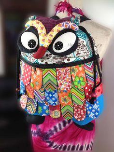 Owl Backpack, Owl Cushion, Owl Keychain, Sack Bag, Vera Bradley Backpack, School Bags, Purse Wallet, Backpacks, Gift Ideas