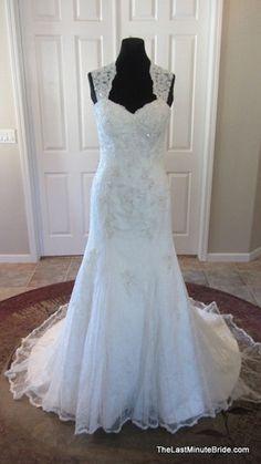 Essense of Australia D1264 - The Last Minute Bride