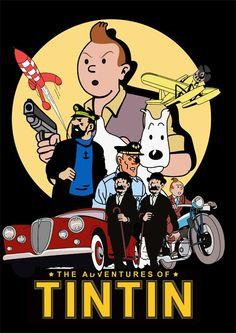 Les Aventures de Tintin - Album Imaginaire - The Adventures of Tintin