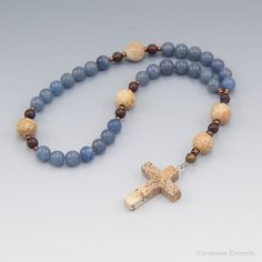 Anglican Prayer Beads Aventurine and Jasper by UnspokenElements, $25.00  These are the ones I have.