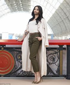 Eurovision winner Conchita Wurst: 'I couldn't care less about other people's opinions. I feel comfortable like this' | Daily Mail Online
