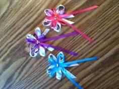 Hairbow! Hand made! Contact me for prices! rainbows312@yahoo.com