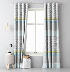 Ozdobne zasłony na okno do sypialni