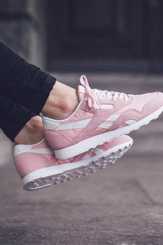 Porcelain Pink Classic Nylon SP Pink Reebok Shoes, Reebok Women Shoes, Pink  Highlights, 11e605a7d99f