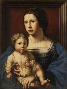 Virgin and Child. Netherlands ca.1522